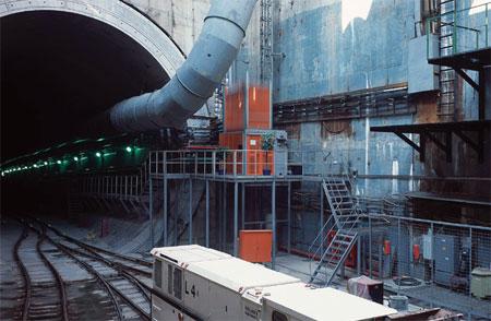 автодорожных тоннелей,