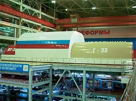 АСГ на ТЭЦ-27