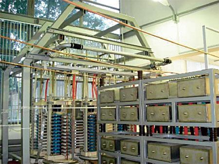 схема развития электрических сетей
