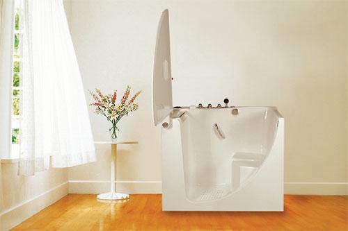 Сидячая герметичная ванна