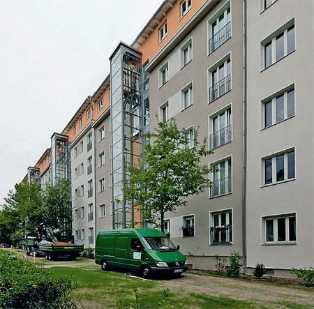 Реконструкция панельного дома (Германия)