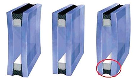 Деформация стекол в стеклопакете под действием разницы давлений