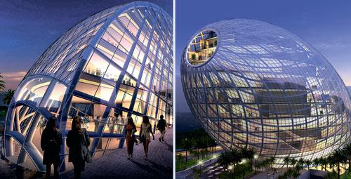 Cybertecture Egg (James Lau), ������, �����