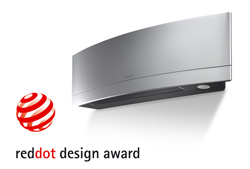 Сплит-система Daikin Emura получила премию Red Dot Award
