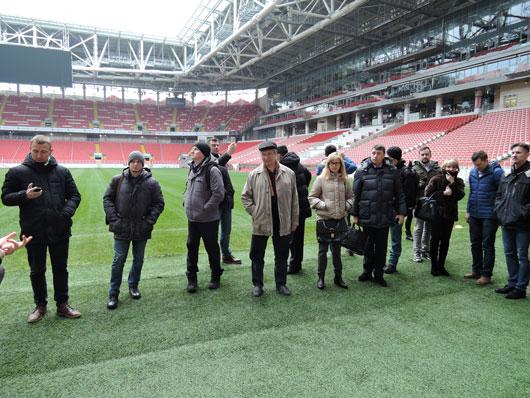 21-22 декабря 2017 года на стадионе ФК Спартак «Открытие Арена» была проведена традиционная декабрьская серия мастер-классов АВОК