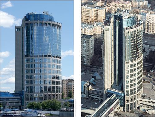 «Башня 2000» – офисный небоскреб, входящий в комплекс «Москва-Сити». АИТ мощностью 13 МВт запроектирован на отметке 100 м