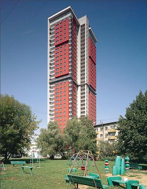 34-этажный жилой дом на ул. Сельскохозяйственной (Москва). Крышная котельная мощностью 3,4 МВт