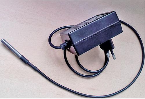 Внешний вид устройства для передачи данных по температуре в помещении
