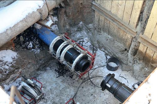 Ремонт и реконструкция наружных сетей водоснабжения и водоотведения